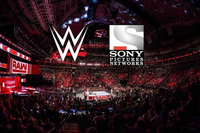 WWE partnership,SPNI,Sony Pictures Network,Sports Business News,Sports Business
