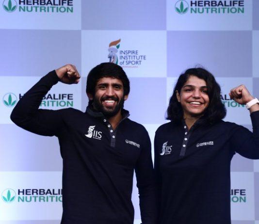 Herbalife Nutrition,Inspire Institute of Sport,Bajrang Punia,Sakshi Malik,Sports Business News
