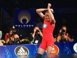 Odunayo Adekuoroye,Dancing Wrestler,Halogen Group,Tokyo 2020,Sports Business News