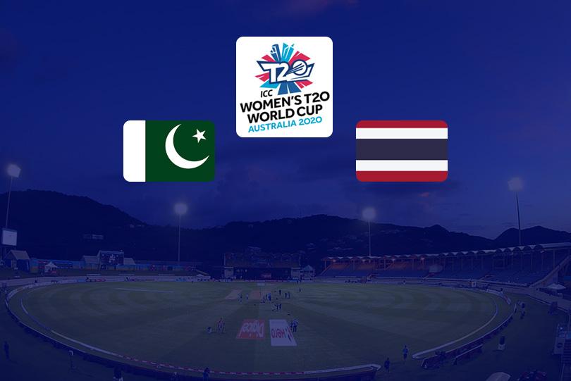 Icc Women S T20 World Cup Live Pakistan Vs Thailand Live