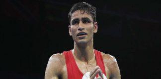 Gaurav Solanki,Asian Olympic Qualifiers,Tokyo Olympics,Mirazizbek Mirzakhalilov, Asian boxing Olympic Qualifiers