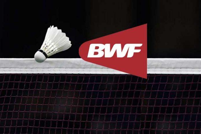 Badminton World Federation,BWF tournament,BWF,BWF tournament schedule,BWF tournament suspended