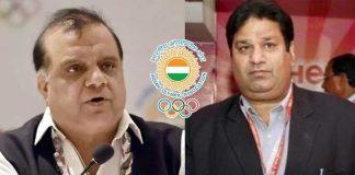 IOA,IOA News,Narinder Batra,Rajeev Mehta,Indian Olympic Association