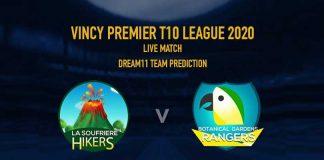 LSH vs BGR Dream11 Team Prediction,LSH vs BGR Dream11 Team,LSH vs BGR Dream11 Prediction,LSH vs BGR LIVE,Vincy Premier T10 League 2020