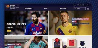 Football Business,Football News,FC Barcelona,FC Barcelona e-commerce platform,Barça Store