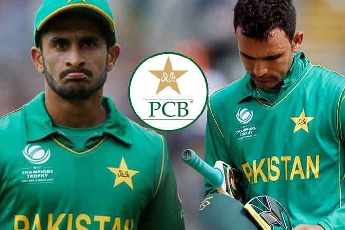 PCB Cricket,Pakistan Cricket,Pakistan Cricket Board,Fakhar Zaman, Hasan Ali,PCB Central Contracts