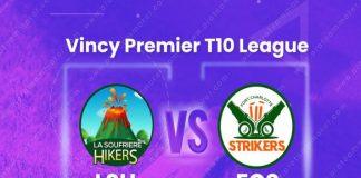 VPL T10 League LIVE,VPL T10 League 2020,LSH vs FCS Dream11 Team,LSH vs FCS Dream11 Team Prediction,Vincy Premier T10 League LIVE