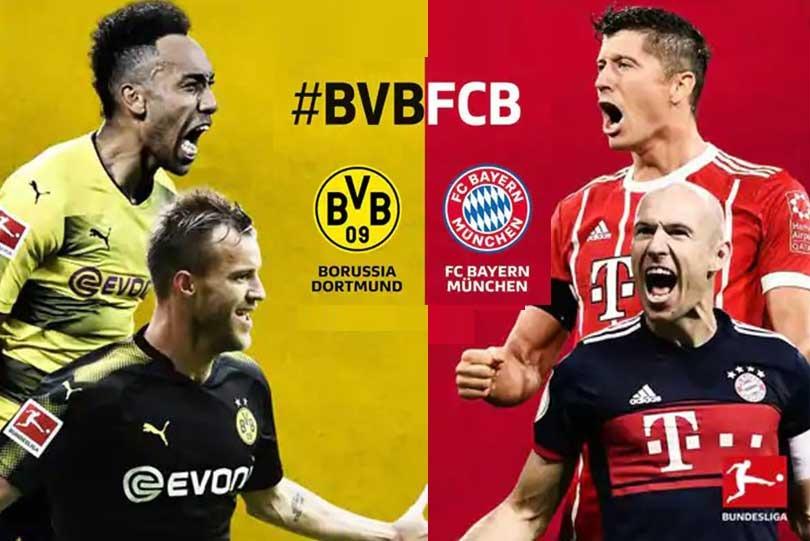 Bundesliga Live Borussia Dortmund Vs Bayern Munich Epic Match Probable Line Ups Match Stats How To Watch Online In India