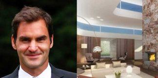 Roger Federer,Roger Federer glass house,Roger Federer house view,Roger Federer house,Lake Zurich