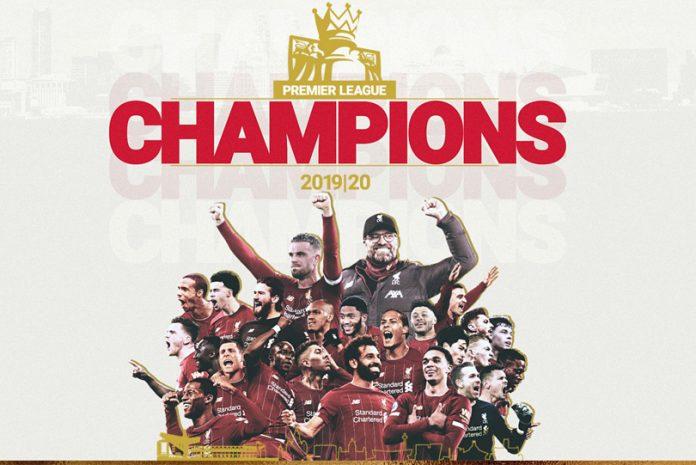 Premier League Live, Premier League Champion,Liverpool,Premier League title,Premier League 2019-20 Champion
