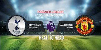 Premier League Live, Premier League Live Streaming,Manchester United vs Tottenham LIVE,Manchester United vs Tottenham Head to Head Statistics