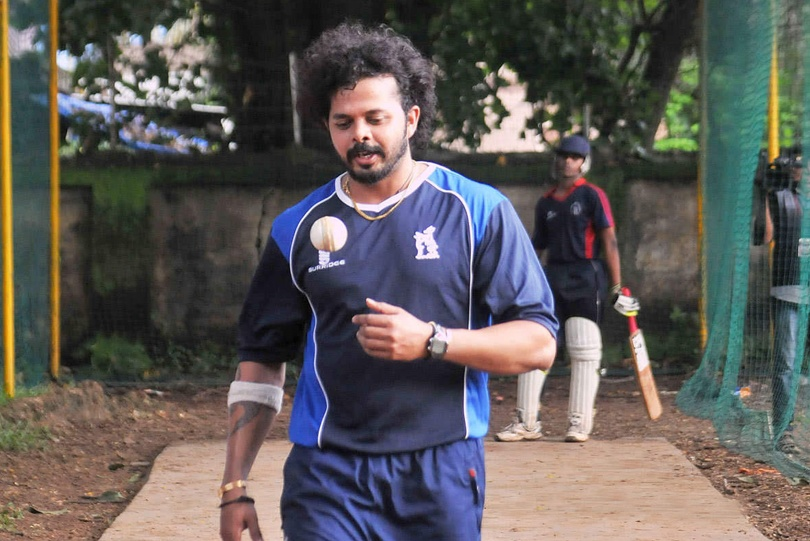 Cricket : S. Sreesanth back in the Kerala Ranji team after 7 year ban | | InsideSport