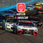Facebook,Venue app,NASCAR,NASCAR car racing,Facebook Venue app,NASCAR Venue