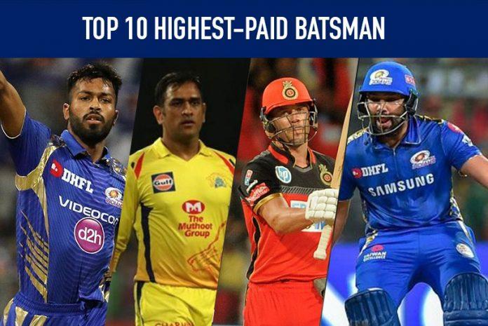 IPL,IPL 2020,IPL News,Indian Premier League,IPL 2020 moneyball,IPL Moneyball,Top 10 Highest-paid Batsman