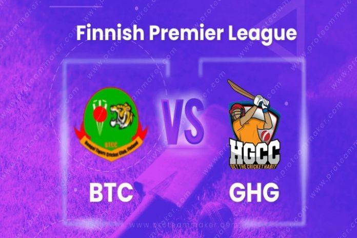 BTC vs GHG Dream11 team prediction,BTC vs GHG Dream11,BTC vs GHG LIVE,Finnish Premier T20 League live,Finnish Premier T20 League live streaming