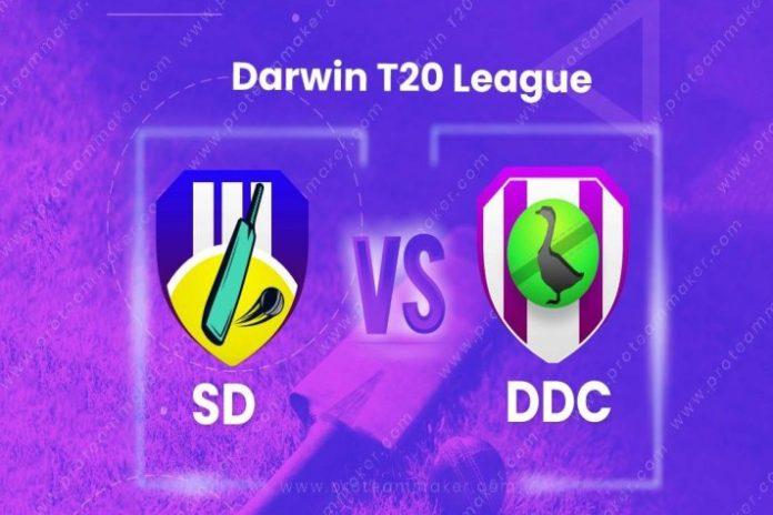 Darwin Cricket T20 League,Darwin Cricket T20 League 2020,Darwin Cricket T20 League LIVE,Darwin Cricket T20 League LIVE Streaming, SD vs DDC Dream11 team prediction