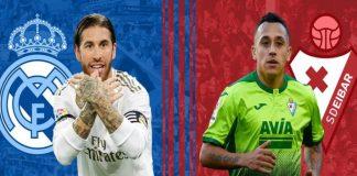 Real Madrid vs Eibar Live,La Liga LIVE,La Liga LIVE Streaming,Real Madrid vs Eibar Head to Head
