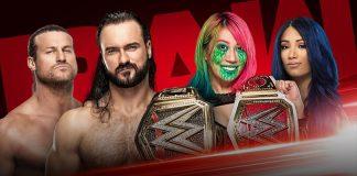 WWE,WWE News,WWE Raw,WWE Raw News,WWE Raw Women's Championship,WWE The Horror Show,Drew McIntyre vs Dolph Ziggler LIVE,Asuka vs Sasha Banks LIVE