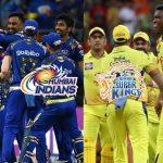 IPL,IPL News,IPL 2020,Indian Premier League,Chennai Super Kings, Mumbai Indians