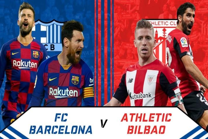La Liga LIVE: Barcelona vs Athletic Club Head to Head ...