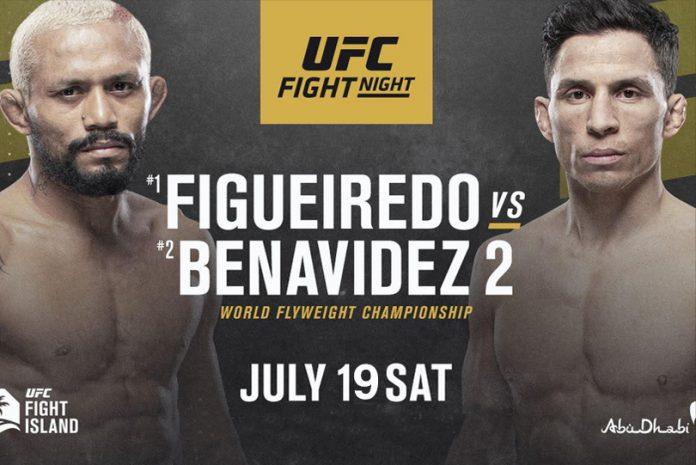 Watch UFC Fight Night on Figueiredo Vs. Benavidez 2 7/18/20