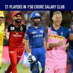 IPL 2020,Indian Premier League,IPL News,IPL,IPL Salary,IPL Salary club,IPL ₹50 crore Salary club