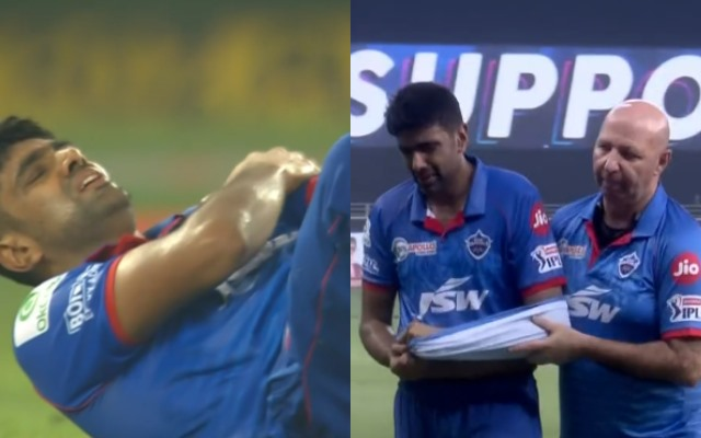 Ashwin's shoulder injury