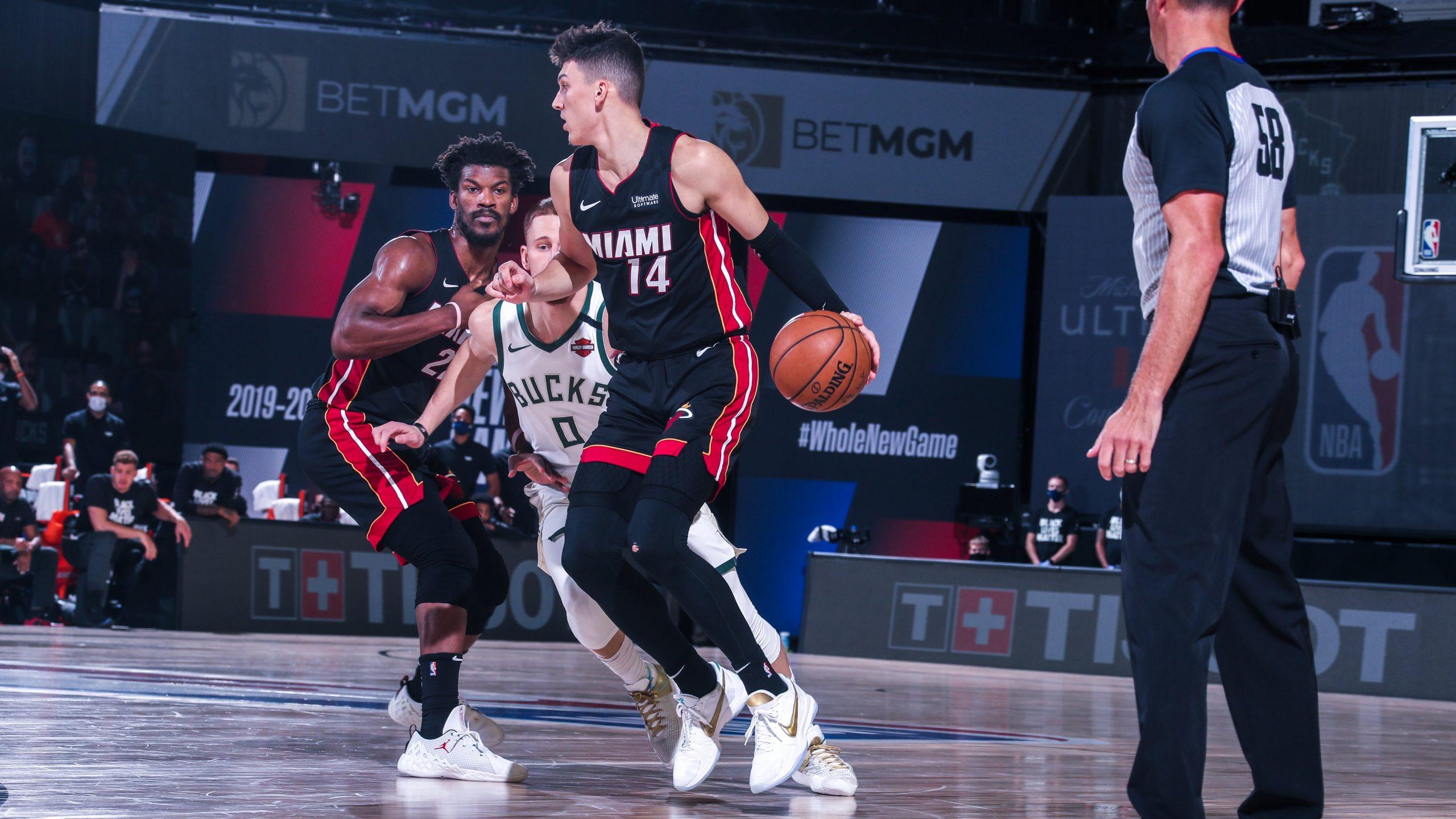 Miami Heats In Nba East Finals Beats Milwaukee Bucks 4 1 In The Series