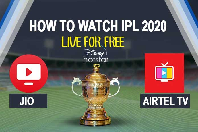 Ipl 2020 Live Streaming Online How To Watch Ipl 2020 For Free On Disney Hotstar Vip Via Jio And Airtel Insidesport